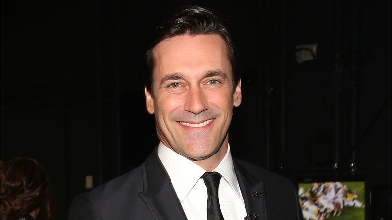 Illustration for article titled The Kindest Man Alive: Jon Hamm Did Push-Ups In Front Of Shelter Dogs For 3 Hours Yesterday