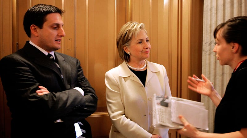Philippe Reines and Hillary Clinton in 2009 | Image: Getty