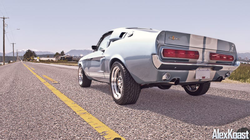 Illustration for article titled A 1967 Shelby GT500 And The Open Road