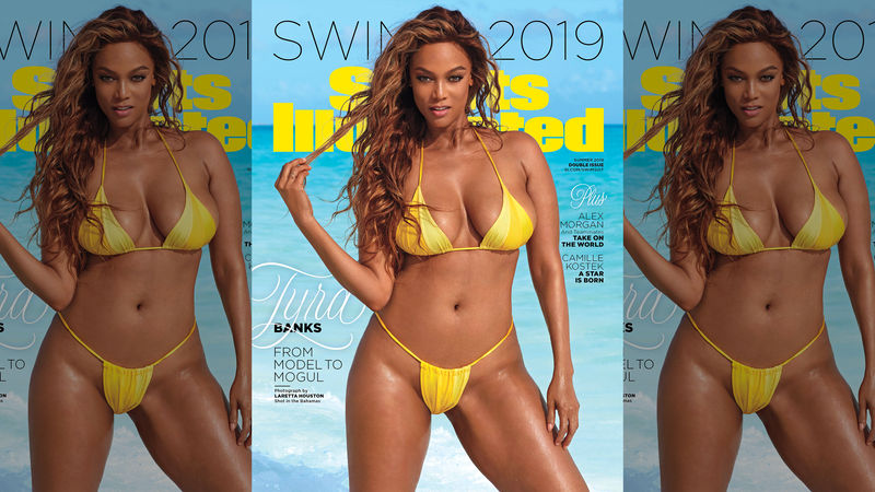Illustration for article titled Smize on the Prize: Tyra Banks Is Back on Top With Sports Illustrated Comeback Cover