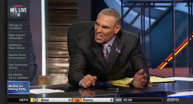 Illustration for article titled Herm Edwards Is Mad As Hell