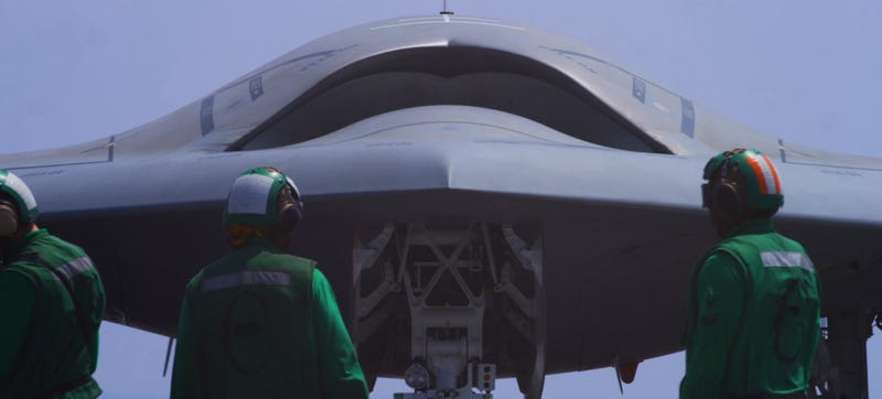 Illustration for article titled Welcome Your Future Death In This Film On The Navy's Stealth Drone