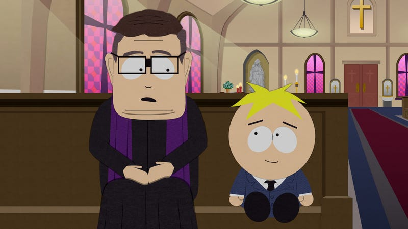 Illustration for article titled South Park revisits the Catholic Church's scandals in an especially dark outing