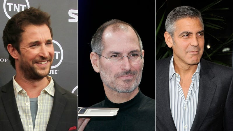 Illustration for article titled Will George Clooney Play Steve Jobs on the Big Screen?