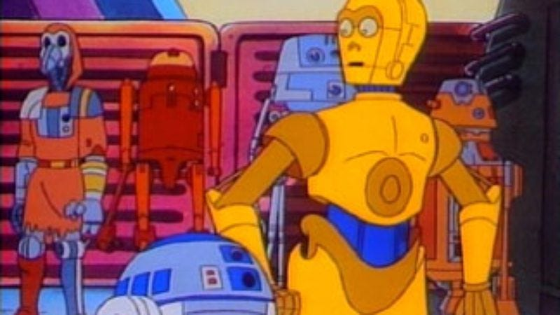Illustration for article titled Read This: Celebrate the 30th anniversary of ABC's Star Wars Droids cartoon series