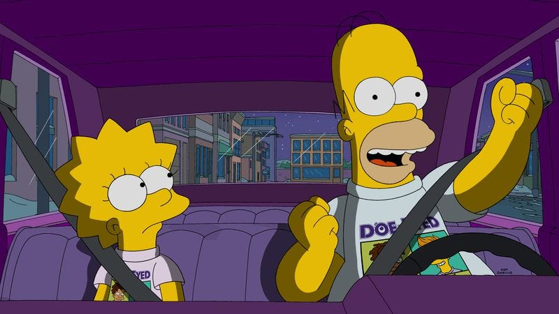 Illustration for article titled Lisa makes a new friend, but her bond with Homer steals a solid Simpsons