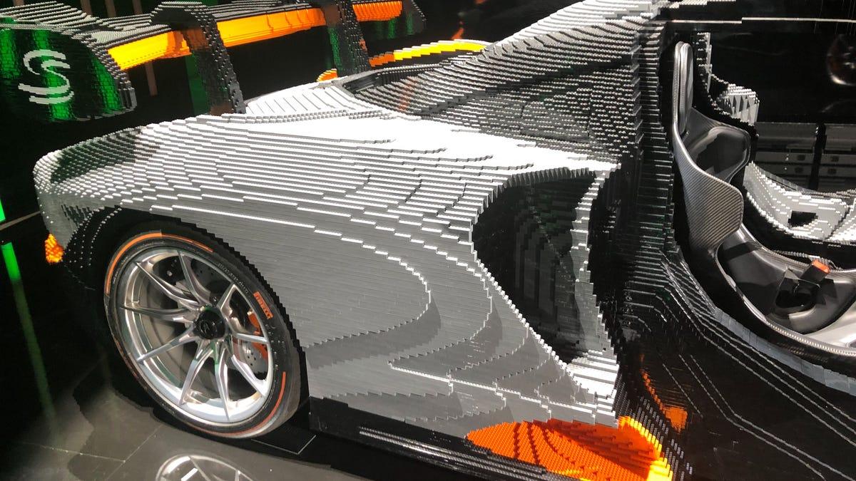 It Took Over 400,000 Lego Bricks To Build This Car