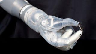 Illustration for article titled Indulhat az élethű robotkarok gyártása