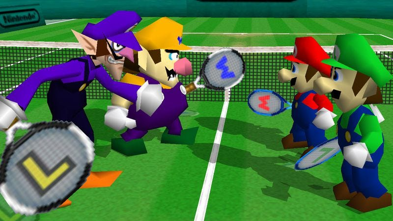 Illustration for article titled Mario Tennis might be Nintendo's best sports game