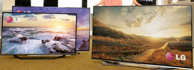 Illustration for article titled LG's Got a New Fleet of Colorful 4K TVs