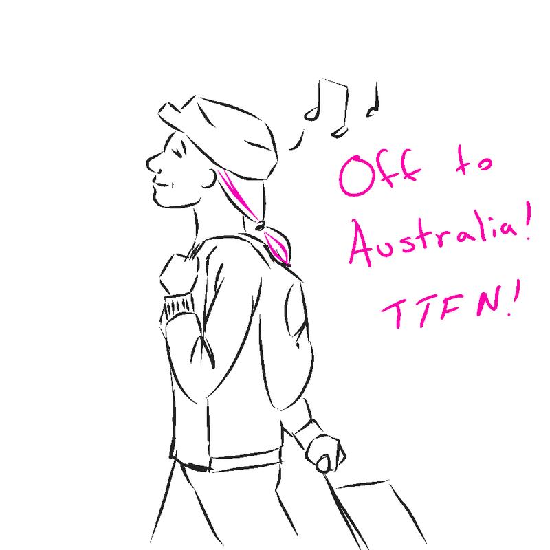 Illustration for article titled I'm leaving... on a jet plane!
