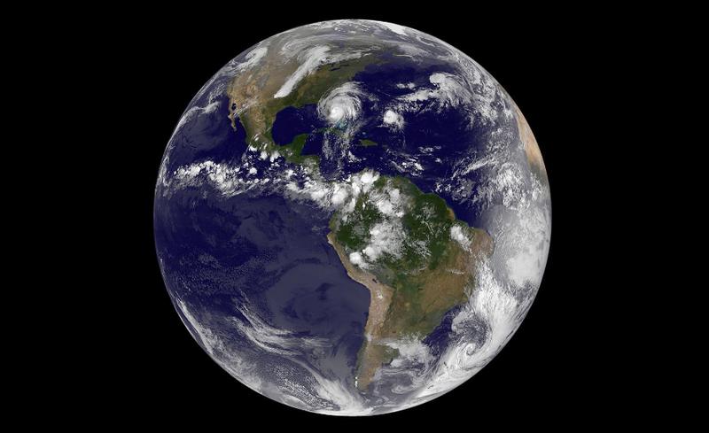 Imagen: NASA Goddard / NASA-NOAA GOES Project