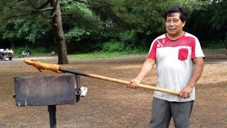 Man Grilling Guinea Pig In Prospect Park Is A Hero