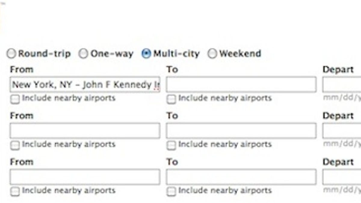 how to use multi city flights to see more places for less