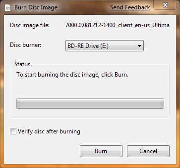 Illustration for article titled Win 7 Tip: ISO Disc Image Burning Is Built Right In