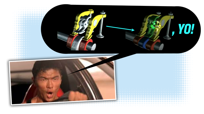 Illustration for article titled How Honda's VTEC Engines Work and How VTEC Can Kick In, Yo