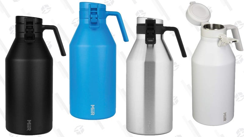 MiiR Growler, 64 oz | $42 | Amazon | Multiple colors available