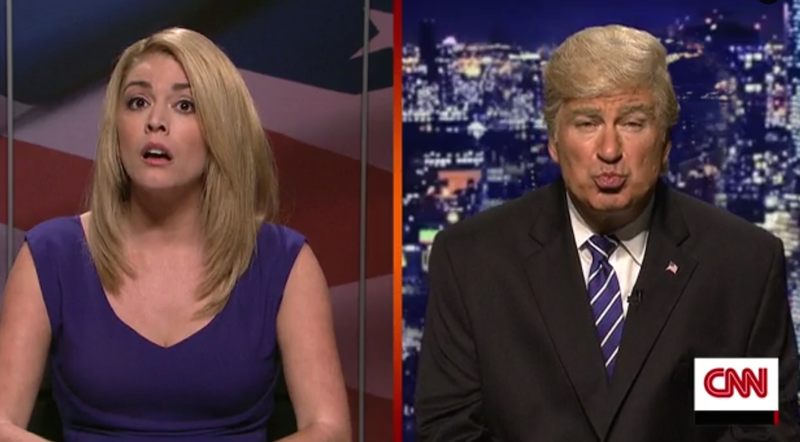 Illustration for article titled Watch Alec Baldwin as Donald Trump 'Apple-ogize' for Pussygate on Saturday Night Live