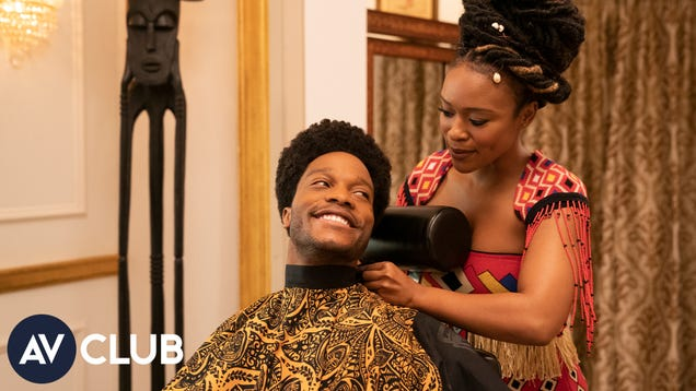 "Jermaine Fowler and Nomzamo Mbatha say Coming 2 America is a ""Black fairy tale"""