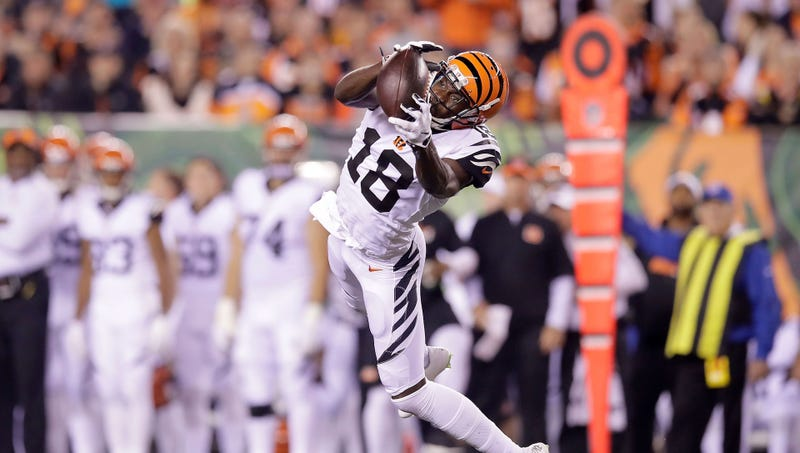 best authentic 20877 b774b A.J. Green Will Catch Anything You Throw At Him