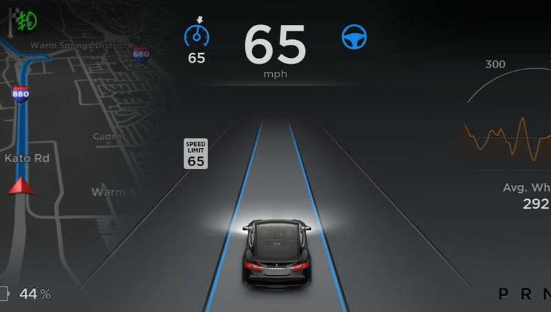 Illustration for article titled Tesla Didn't Add Eye-Tracking And Steering Wheel Sensors To Autopilot Over Cost, Driver Annoyance: Report