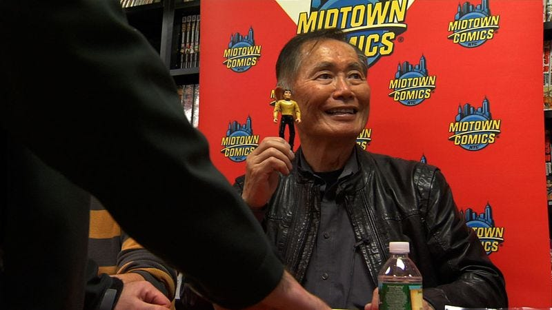 Illustration for article titled Even fans of the out-and-proud Star Trek alum may be bored by To Be Takei