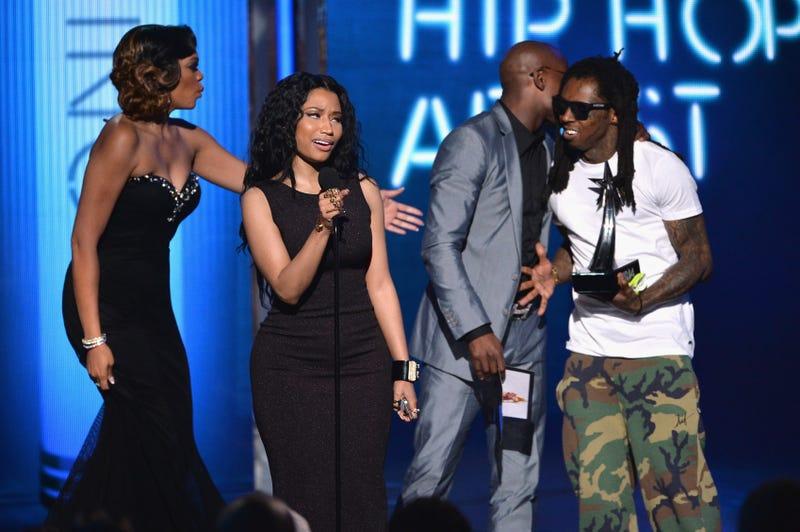 Nicki Minaj and Lil' Wayne (Kevin Winter/Getty Images)