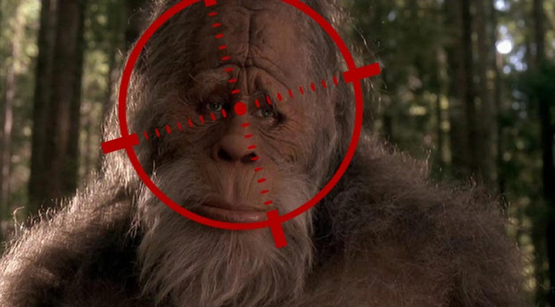 Illustration for article titled PETA doesn't want you to kill Bigfoot, Texas doesn't really give a shit