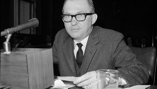 Conservative commentator James J. Kilpatrick