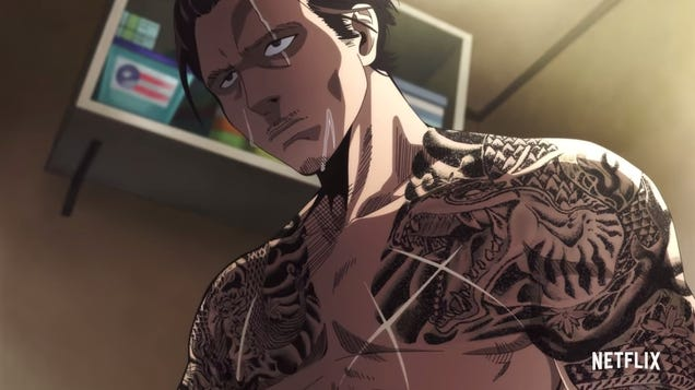 Tattoos Removed For Anime's Chinese Release