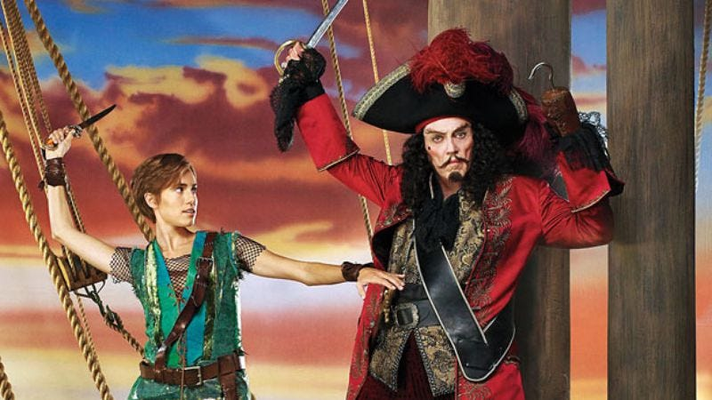 Illustration for article titled NBC releases first official image of Christopher Walken as Captain Hook