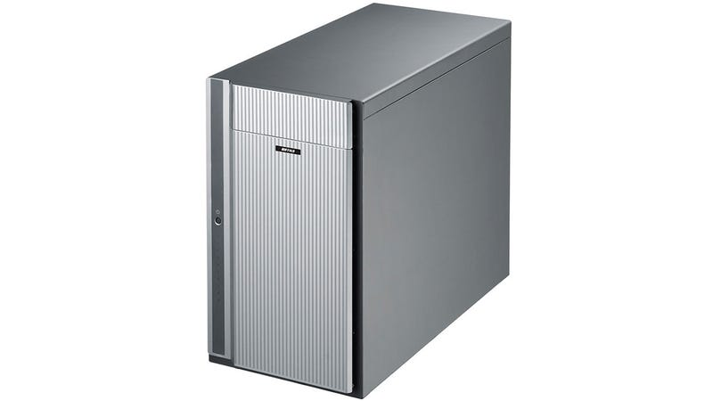 Illustration for article titled There's 10 Drives and 80TB of Storage Hiding Inside This Tower