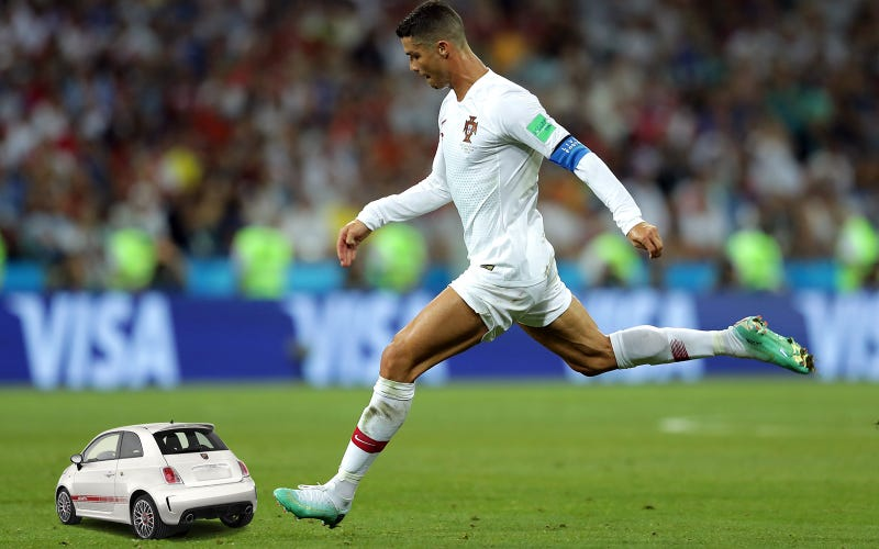 Illustration for article titled Why Fiat Chrysler Workers Are Striking Over Soccer God Cristiano Ronaldo