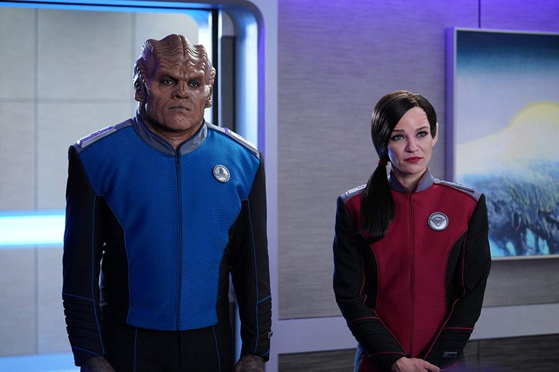 A new romance fights an old prejudice on The Orville