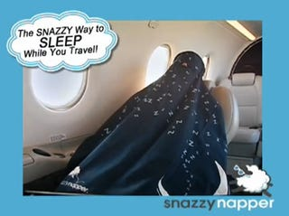 Illustration for article titled The Snuggie for After-Hours Use: Snazzy Napper