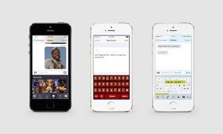 Illustration for article titled Tres divertidos teclados para iOS 8 que tienes que probar