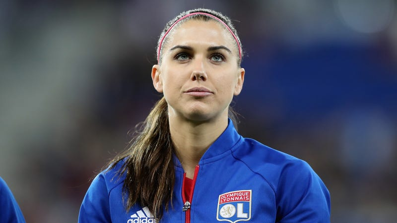 Alex Morgan cited for trespassing at Disney World