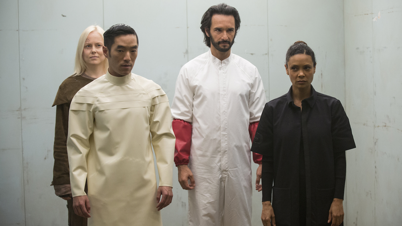 My crew!!! Image via Westworld/HBO.