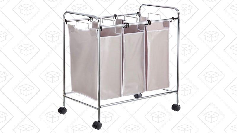 AmazonBasics 3-Bag Laundry Sorter | $28 | Amazon | Prime members only