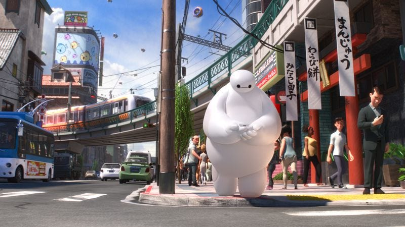 Illustration for article titled Lovely animation and design elevate the derivative Big Hero 6