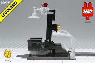 Lego electric chair too far for Chaise electrique