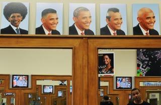 Illustration for article titled Barack Obama: Hair Apparent