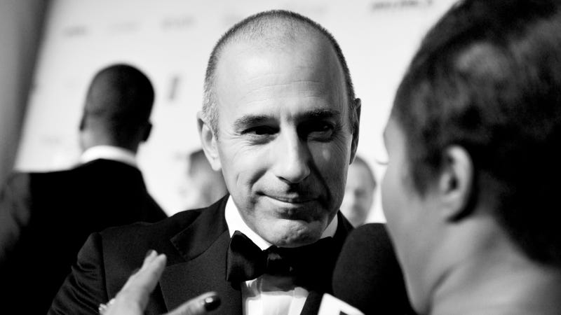NBC News Fires Matt Lauer After Complaint Of 'Inappropriate Sexual Behavior'