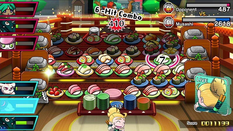 Sushi Striker: The Way of the Sushido | $42 | Amazon