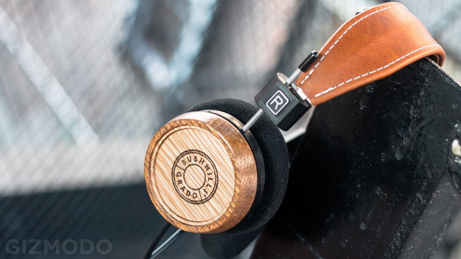 headphone amplifier two - ​Grado Labs Made Gorgeous Cans Out of Irish Whiskey Barrels