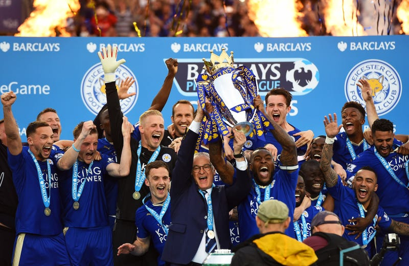 Leicester City Got Their Trophy, And It Still Doesn't Seem Real on hull city, dover city, coventry city, carlisle city, swansea city, cardiff city, bristol city, spencer city, gibraltar city, caernarfon city, glasgow city, tyre city, paris city, leyton orient, norwich city, gouda city, leeds city, perth city, charlton city, birmingham city, amsterdam city, mk dons, bristol rovers, melbourne city, england city, rio de janero city,