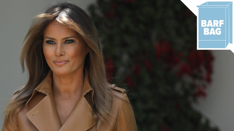 Illustration for article titled Melania Trump Ready to 'Be Best' at Cyberbullying Summit