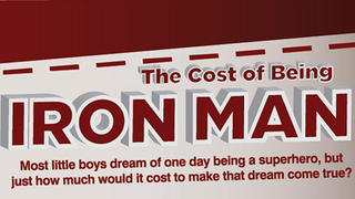 Illustration for article titled Here's How Much It Would Cost to Be Iron Man