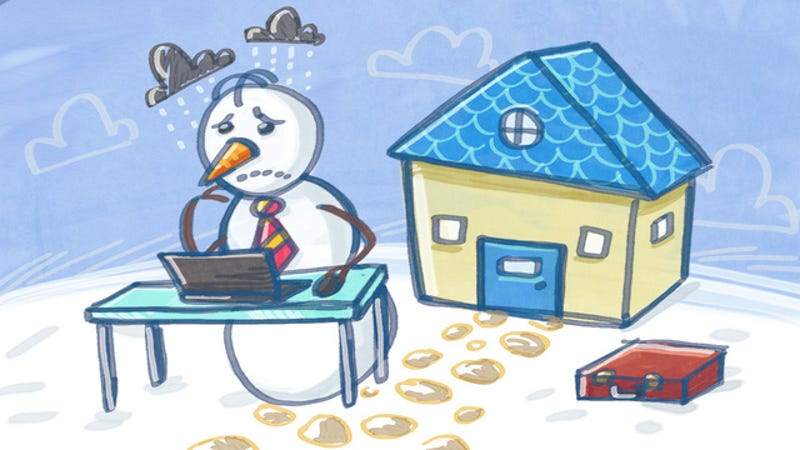Illustration for article titled How to Beat the Winter Blues When You Work from Home