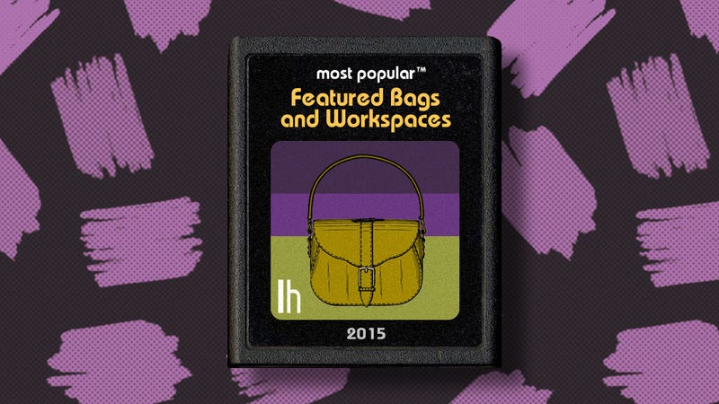 Most Popular Featured Bags and Workspaces of 2015